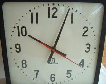 Back To  School Vintage American brand school industrial Wall Clock