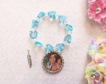 10 Pocahontas  Bracelets Party Favors