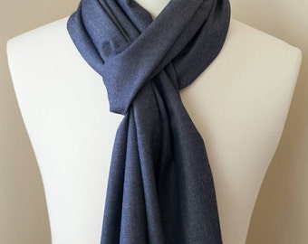 Scarf - Denim - Pendleton Wool