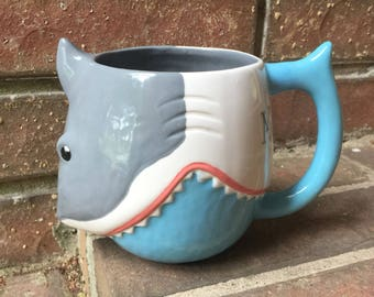 Mornings Bite Shark Mug