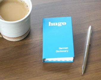 Hugo German Dictionary Journal