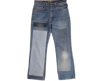 B Sides Patchwork Levi's 517s One of a Kind