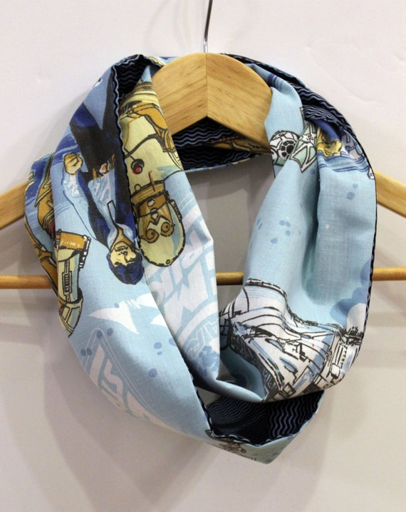 Vintage Star Wars Child's Infinity Scarf