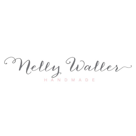 Calligraphy logo photography script watermark premade