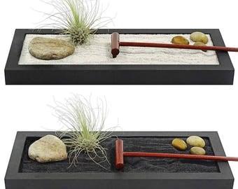 SALE** ZEN GARDEN **- zen meditation garden, air plant terrarium,