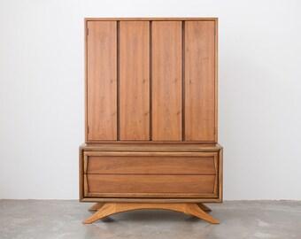 Mid Century Walnut Gentleman's Dresser