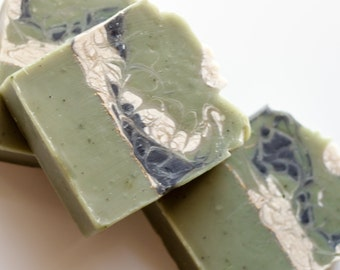 Jewelweed Itch Relief Soap - Cold Process, Handcrafted, Vegan Soap, Palm Free