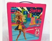 RESERVED For Whimsical Debbie~Spring SALE 40% OFF Vintage Barbie Doll Fashion Trunk Case 1990s