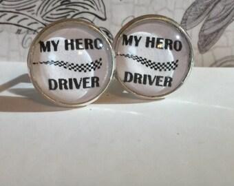 Hero Driver Cufflinks