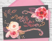 Best Life Ever - Greeting Card