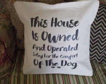 Dog Decorator Pillow