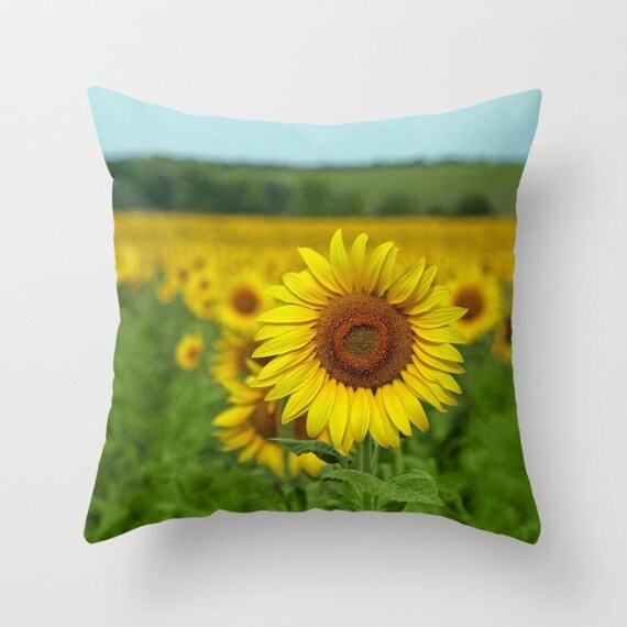boho girls pillow sunflower pillow boho throw pillows