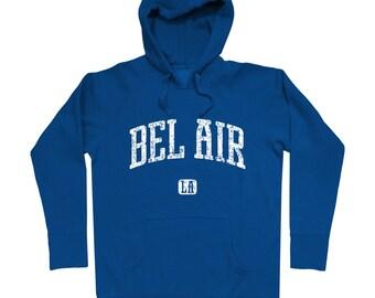 Bel Air Los Angeles Hoodie - Men S M L XL 2x 3x - Gift For Men, Gift for Her, Hoody, Sweatshirt, Bel Air Hoodie, California, LA, Sunset Blvd