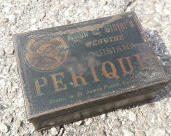 Allen and Ginter's Perique Tin