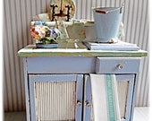 Shabby Blue - Cottage Sink