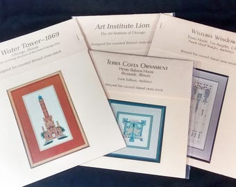 Architectural Counted Cross Stitch Patterns