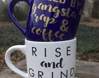 Personalized / Monogrammed 16 oz Coffee Mug / Personalized Gift / dishwasher safe
