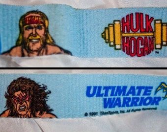 1991 RARE WWF Kids Wrestling Belt - Vintage WWE Titan Sports - Childrens - Hulk Hogan
