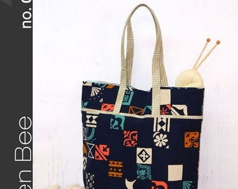 Green Bee Sewing Patterns - The Market Bag Pattern