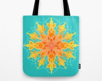 Tote bag - Sacred Sunshine Mandala