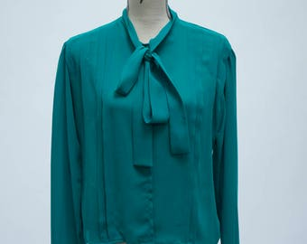 Jubilation Teal Blouse