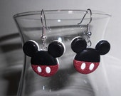 Mickey Mouse Themed Earrings