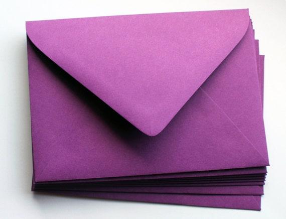 purple envelopes a7 euro flap self sealing invitation