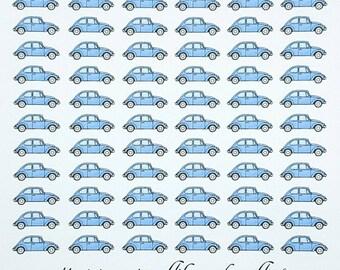 VW Beetle Planner/Journal/Bullet Journal Stickers