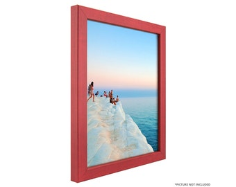 "Craig Frames, 5x7 Inch Modern Red Picture Frame, Colori 0.75"" Wide (720240507)"