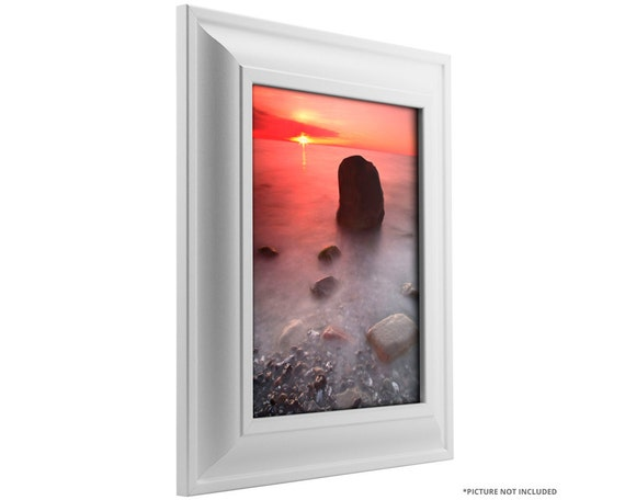 Craig Frames 22x28 Inch White Picture Frame Contemporary