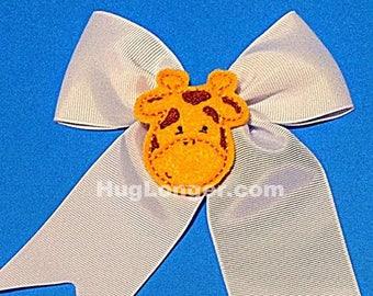 ITH Giraffe Feltie HL2023 embroidery file