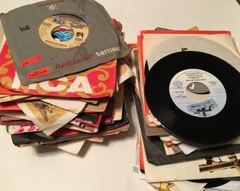 100 plus 45 rpm records