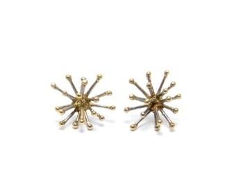 30% OFF// jacks earrings - brass