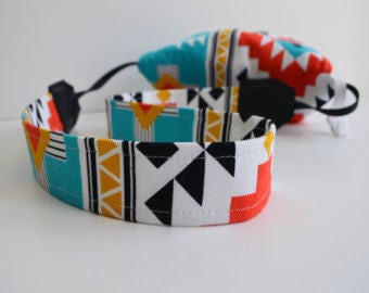 Best Camera Straps By Camera Coats Photographer Gift 2017 USA Handmade Ready to Ship | Aztec Designer Fabric Wipes Clean | Free US Shipping