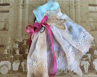 Blythe Doll Spring Dress Blue Robinswood