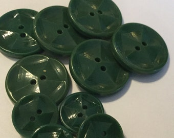 Set of Vintage Celluoid Buttons