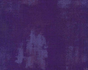 Basicgrey - Grunge for Moda - Purple - 295 - Fat Quarter FQ Cotton Quilt Fabric 217