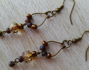 Vintage Vibe Dangling Earrings