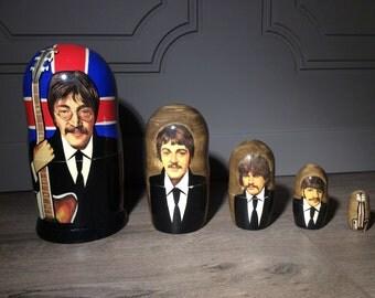 Beatles Nesting Dolls Set of 5