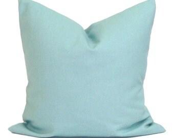 BLUE PILLOW Sale.14x14 inch.Decorative Pillow Cover.Blue Cushion Cover.Spa Blue Pillow.Spots.Ikat.Pillow Coordinates.Blue Fabric.Housewa