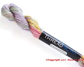 ThreadworX 1078 Variegated 6 Strand Floss Pastel Bouquet