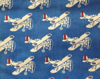 Glosser Gladiator Vintage Fabric London Half Yard Patriotic
