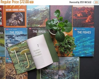 SPRING SALE Life Nature Library Collection // Vintage Nature Plants Animals Science Books Informational Vintage Photography 1970's Set of 21