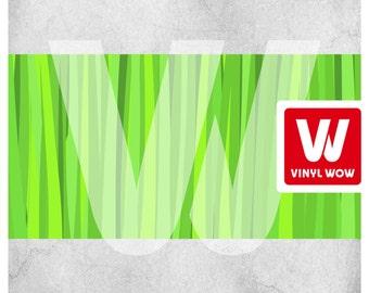Wall Border Set - Green Grass Field - 16 ft x 6 in - Decal Sticker