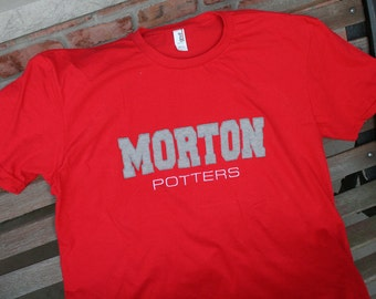 MORTON Potters - MORTON Varisty Letters
