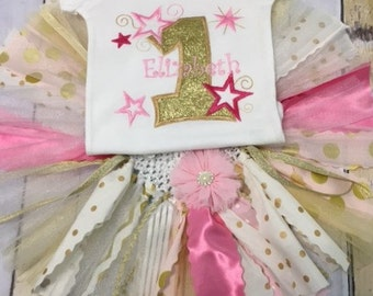 Twinkle, Twinkle little star, lst birthday , girls first birthday, cake smash outfit, tutu, personalized birthday outfits