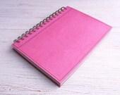 Bullet Journal Dot Grid A5 Notebook plain pink
