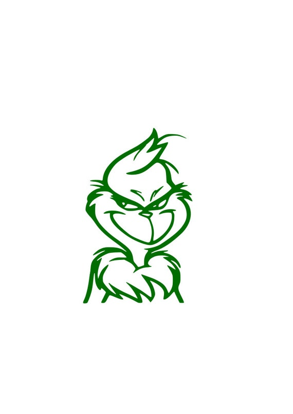 Download The Grinch SVG for Silhouette and Cricut by RnBSVGs on Etsy