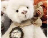Aurora, beautiful hand sewn, vintage style artist bear.