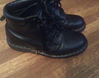 Vintage Doc Marten Boots / Black Dr Marten Boots / Black Doc Marten's / US Women's 10